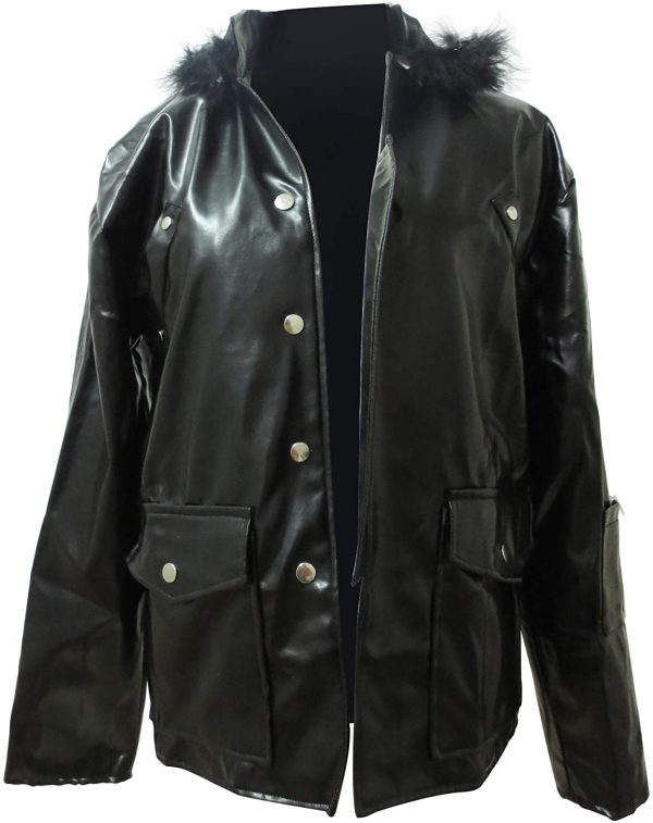 Red Clan Leader Mikoto Suoh Leather Jacket