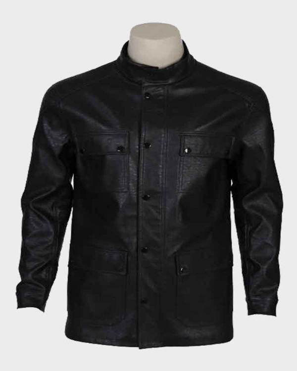 Terminator Dark Fate T-800 Leather Jacket