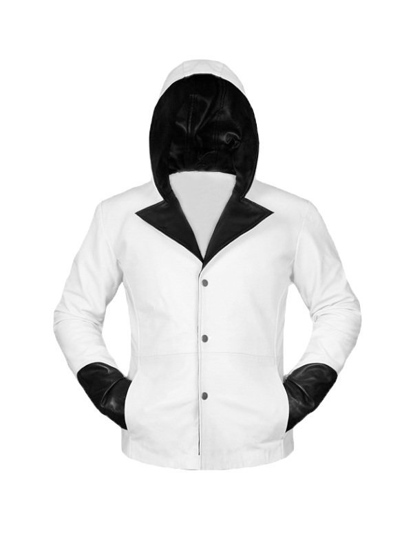 Devil May Cry Dante Hoodie Leather Jacket
