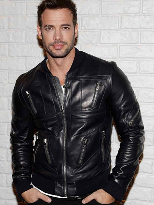 William Levy Leather Jacket